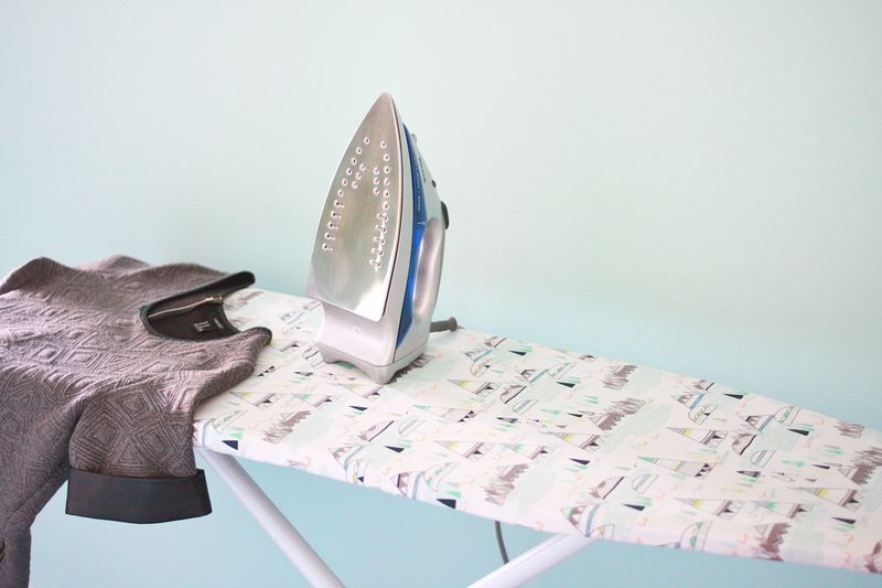 Ironing Board Cover DIY abeautifulmess.com