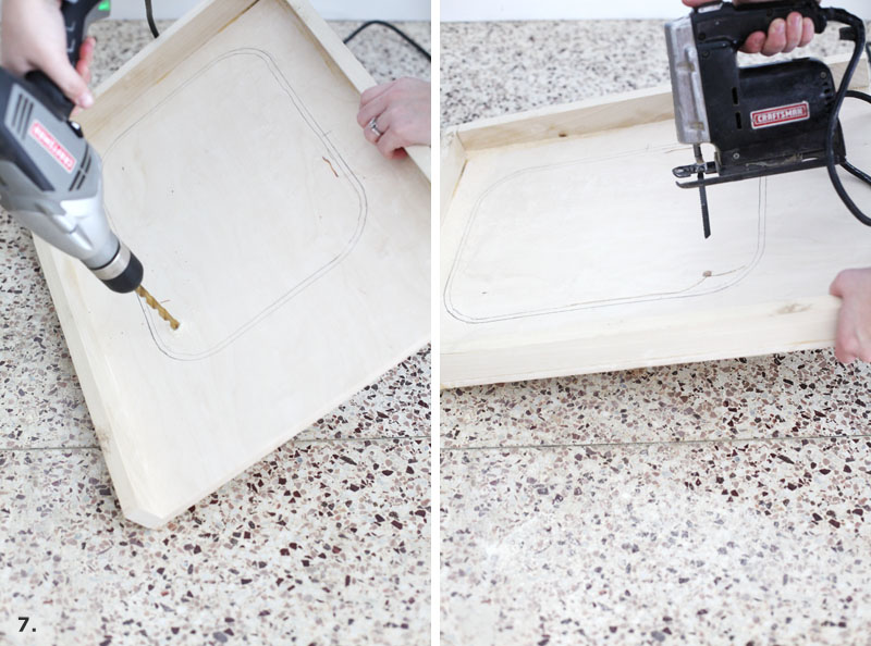 IHow to convert a cabinet into a pull-out trash bin- get that trash can out of sight!