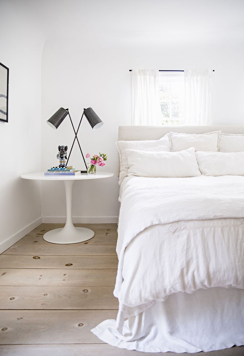 Clean and simple bedroom