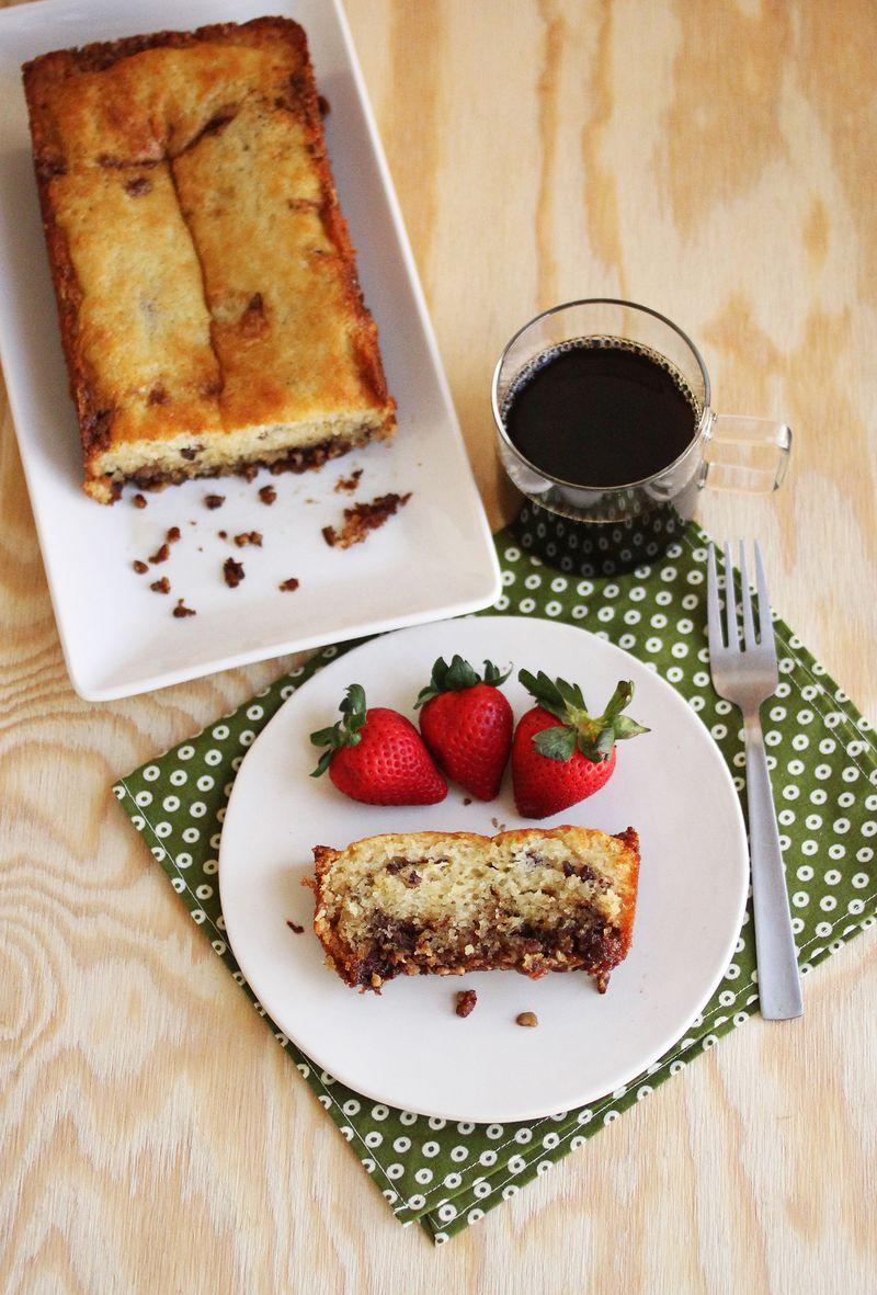 Greek yogurt coffee cake