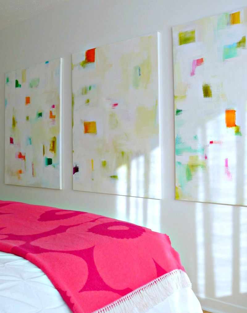Love these abstract paintings!
