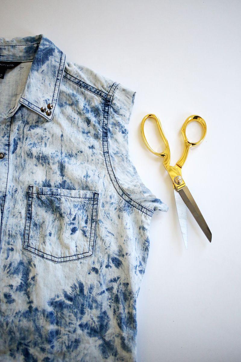 Tied Crop Top DIY abeautifulmess.com (click through for tutorial)