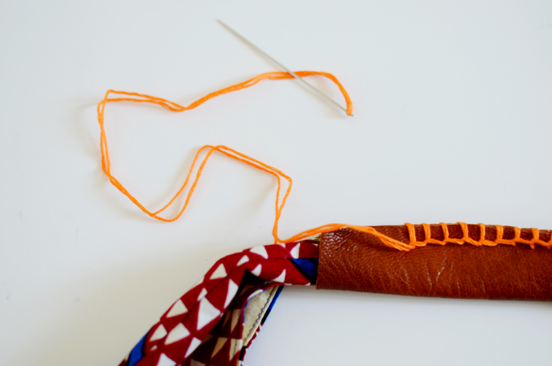 How to sew a purse step5