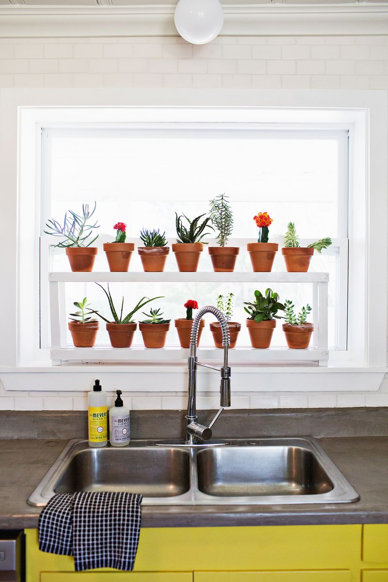 Window Ledge Plant Shelf A Beautiful Mess