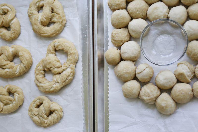 Homemade pretzels!