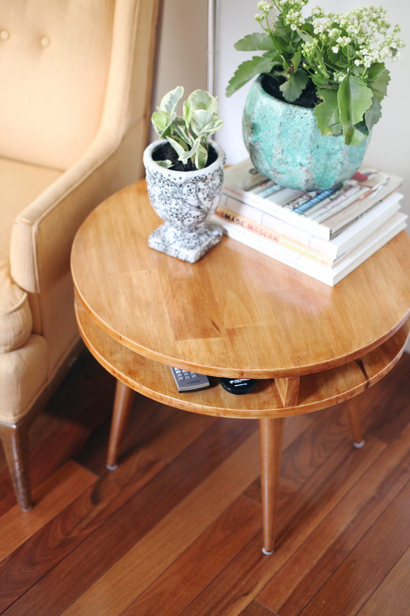 Midcentury Modern Side Table Diy A Beautiful Mess