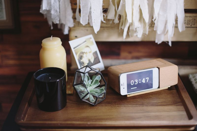 Lovely bedside trinkets
