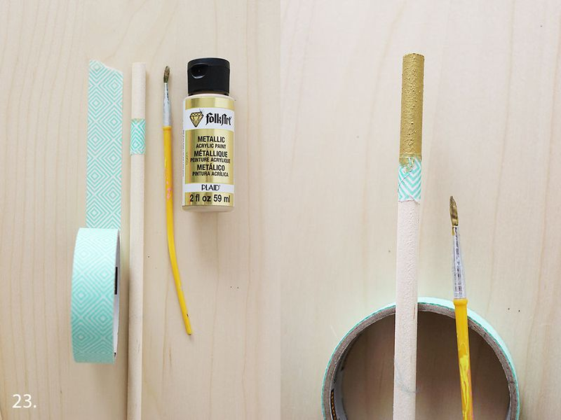 Paint Your Dowel