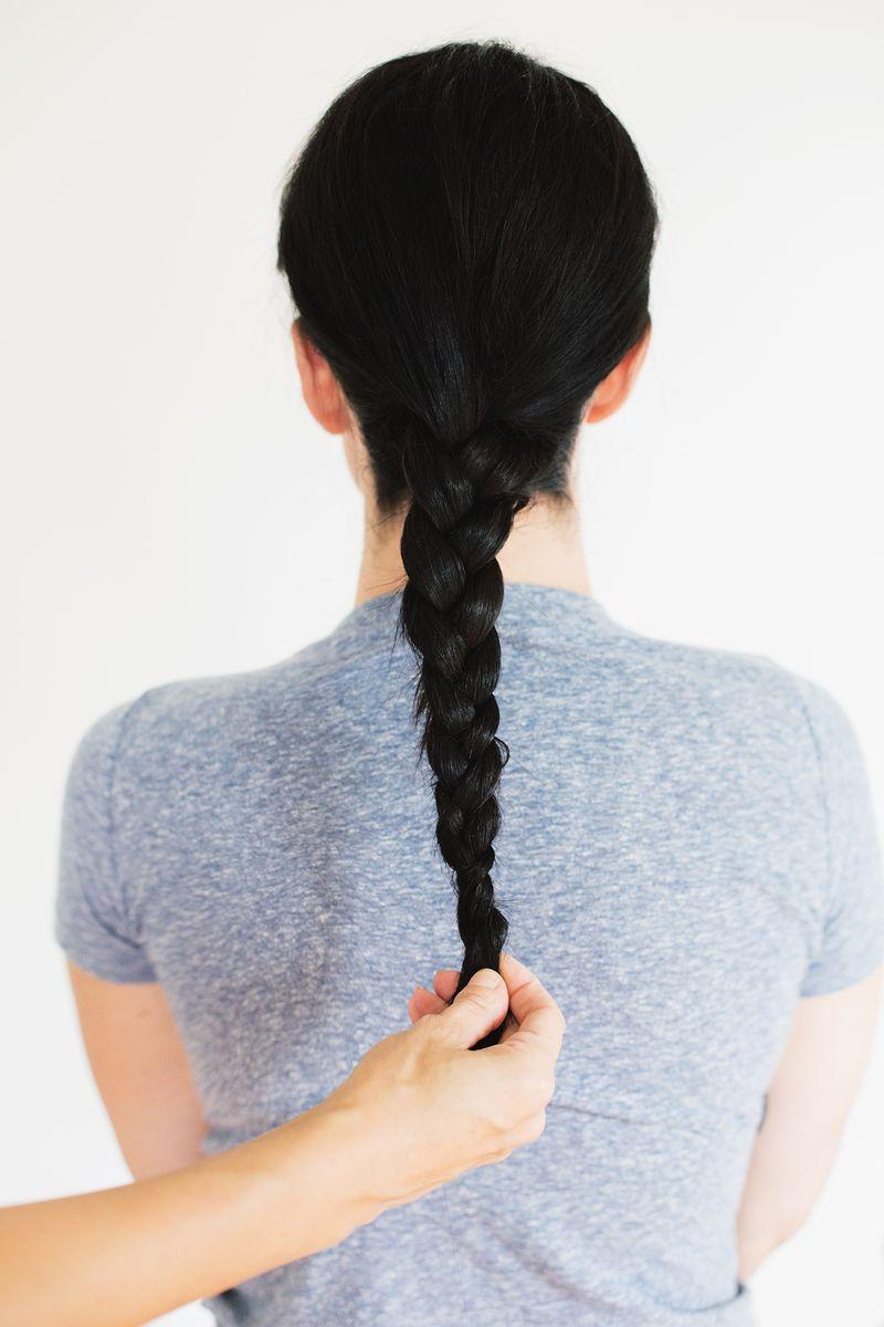 Step one- braid hair
