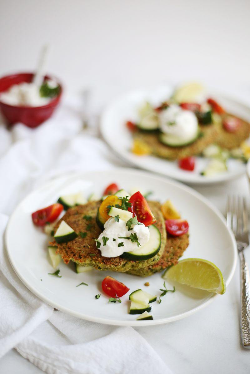 Gebackene Quinoa-Falafel