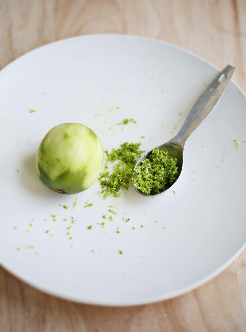Lime zest