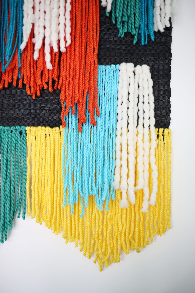 Fast + Easy!) Large Tapestry Wall Hanging - A Beautiful Mess