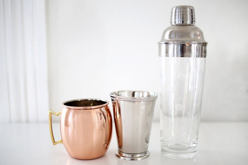 Special cups and shaker