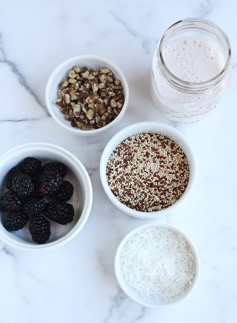 Breakfast quinoa recipe