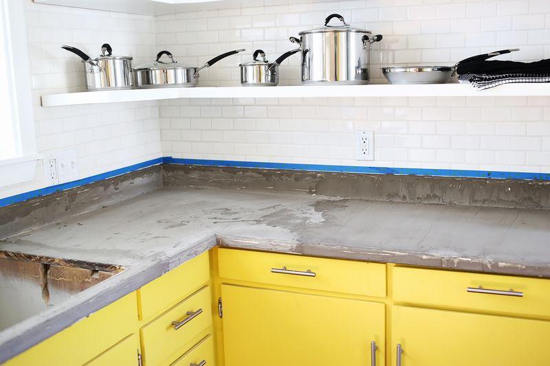 Genial Concrete Countertop DIY Abeautifulmess.com Concrete Countertop DIY  Abeautifulmess.com