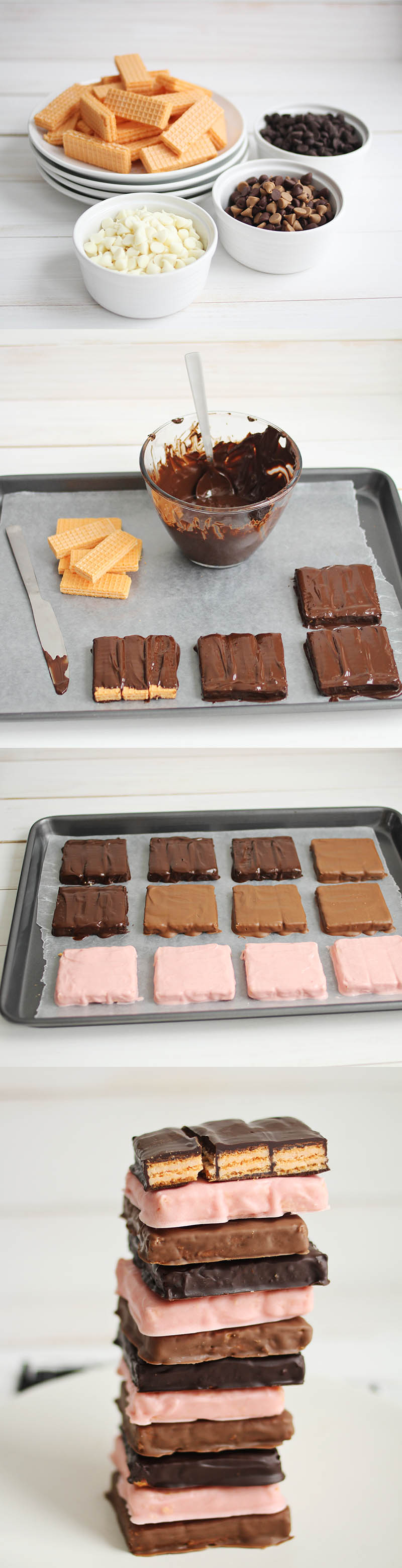How to make kit kat bars at home!