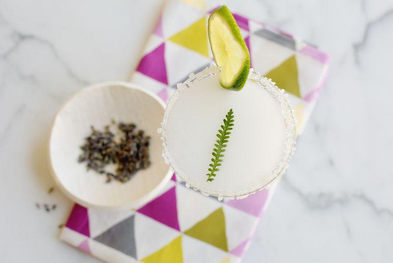 Lavender Coconut Margarita
