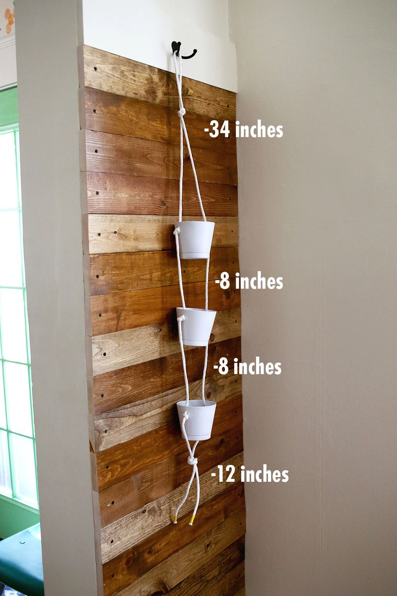 3 Tier Indoor Rope Planter :: large