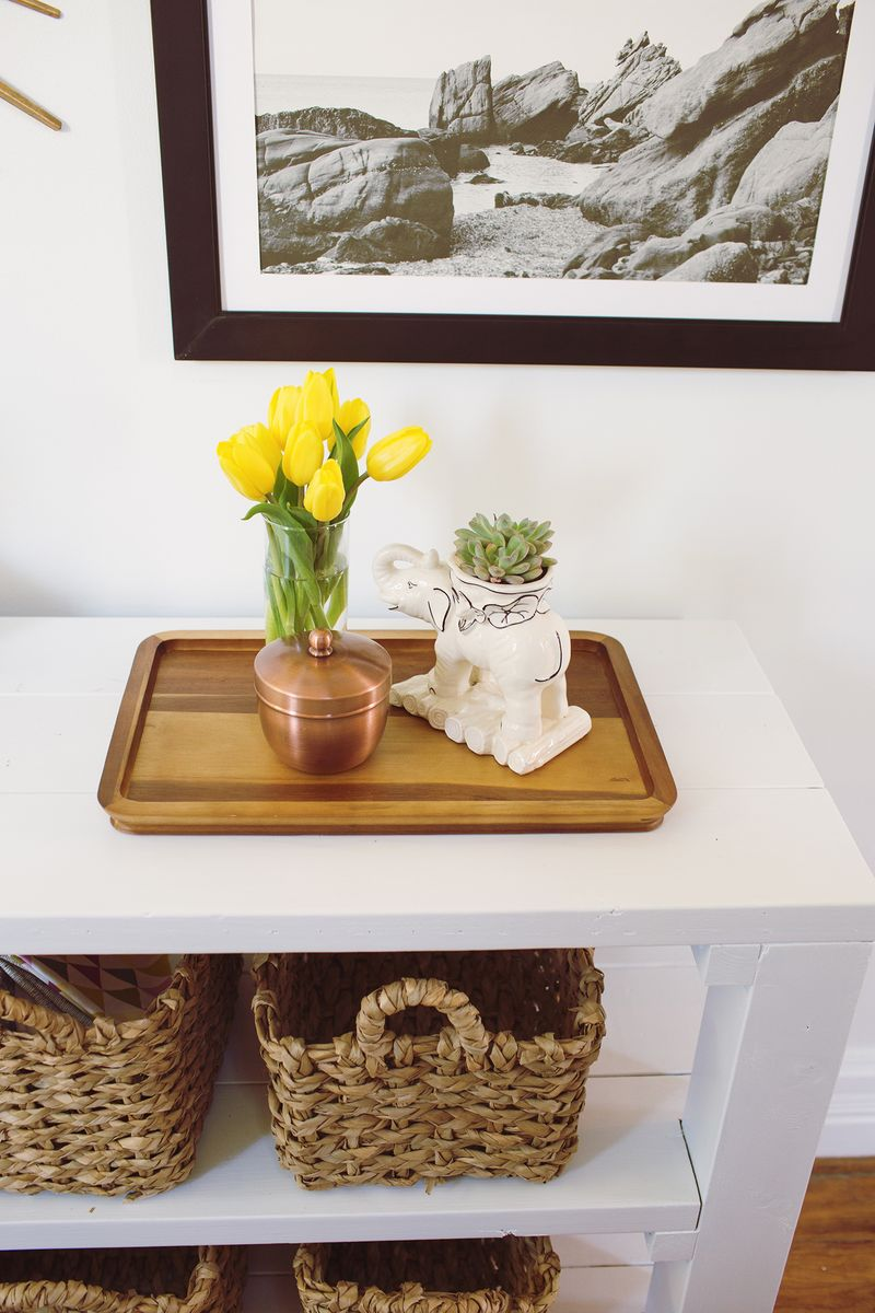Key throw table diy