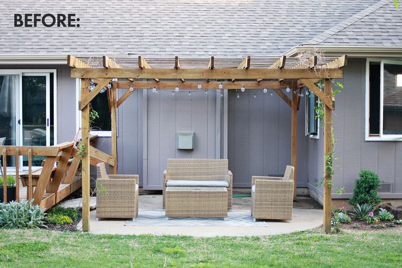 Make Your Own Outdoor Curtains! - Make Your Own Outdoor Pergola Curtains! - A Beautiful Mess