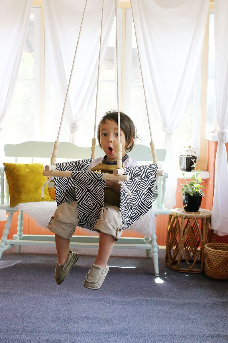 Baby And Toddler Swing Diy A Beautiful Mess