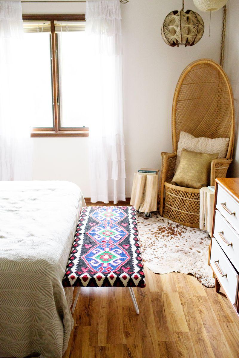 Diy Bedside Bench A Beautiful Mess