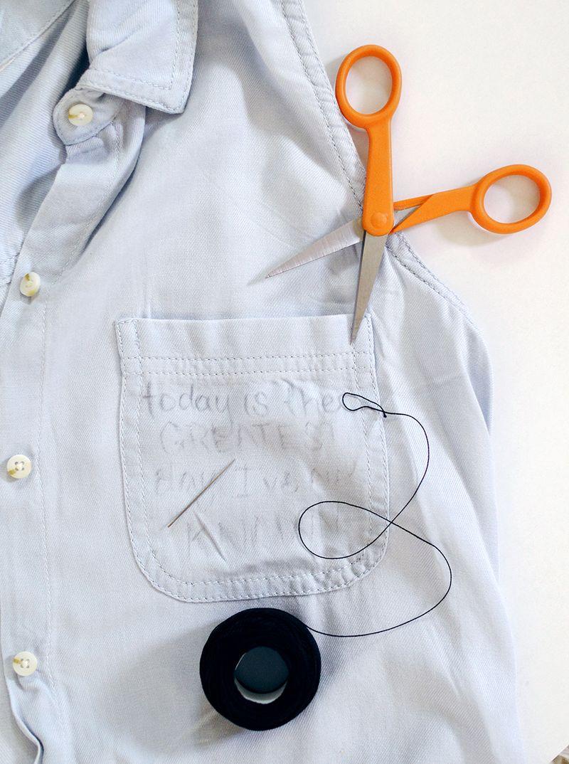 DIY Pocket Embroidery Supplies