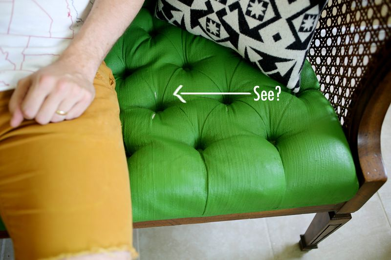 Adventures In Painting Upholstery A, Furniture Fabric Paint