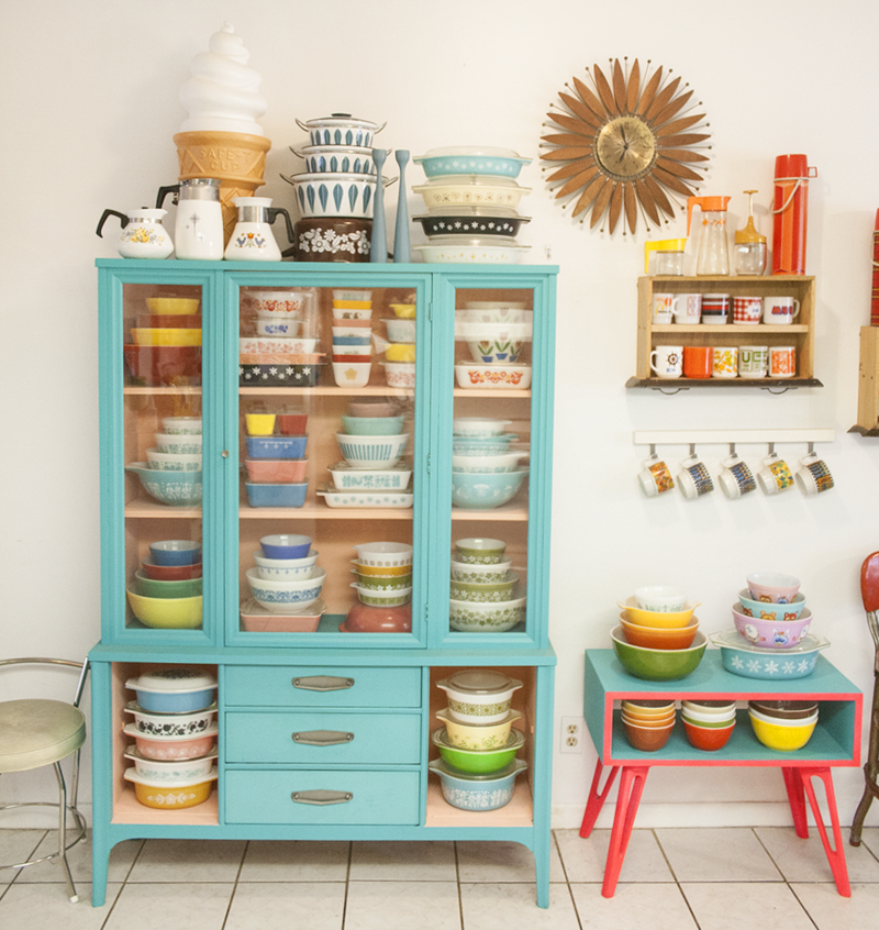 Amazing Pyrex collection
