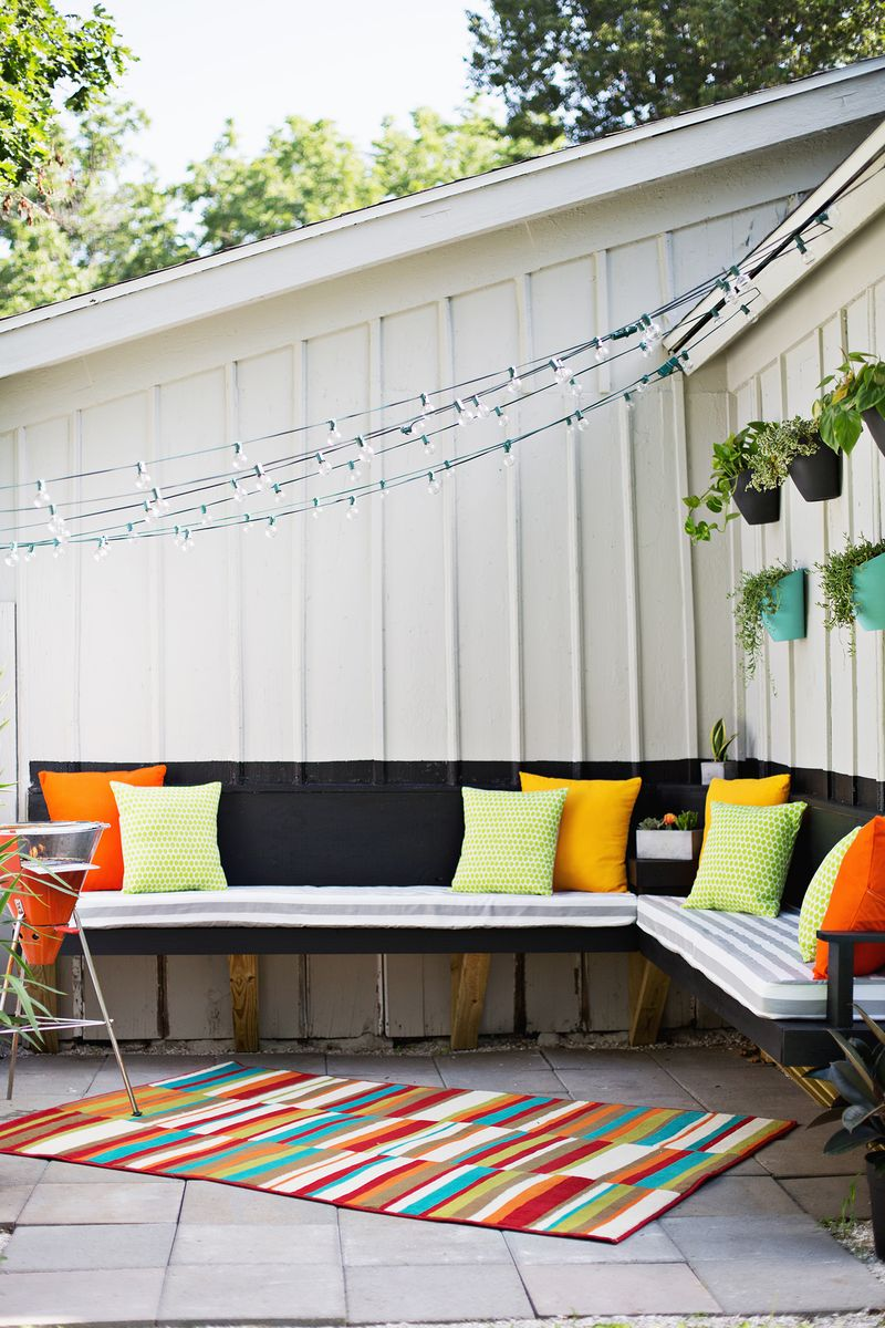sew your own outdoor cushions - Patio Bench Cushions