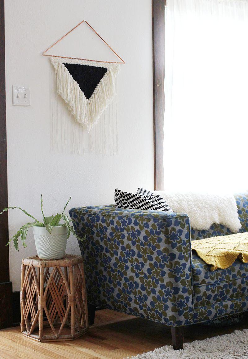 Large Wall Hanging DIY