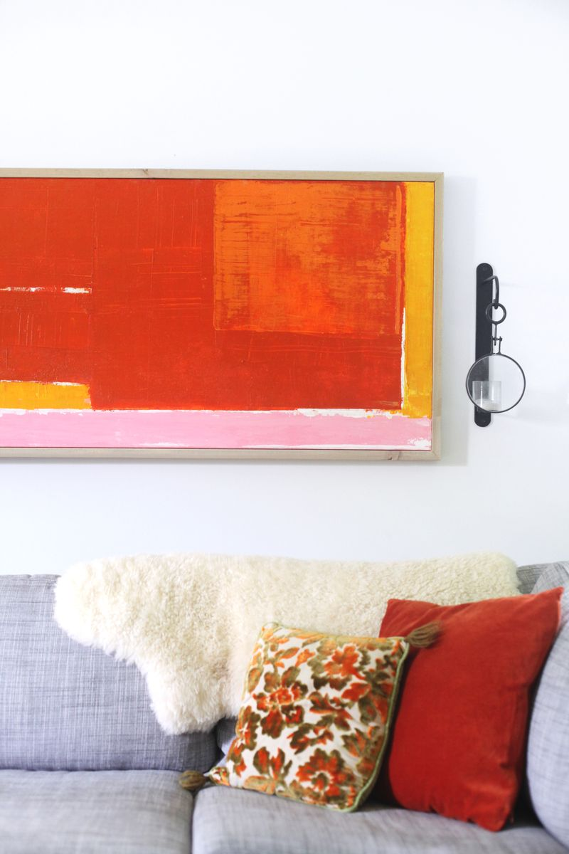Easy Abstract Art Step By A Beautiful Mess