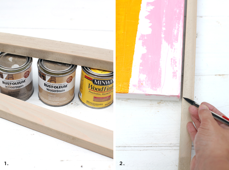 Three custom-built frames you can make without any power tools!