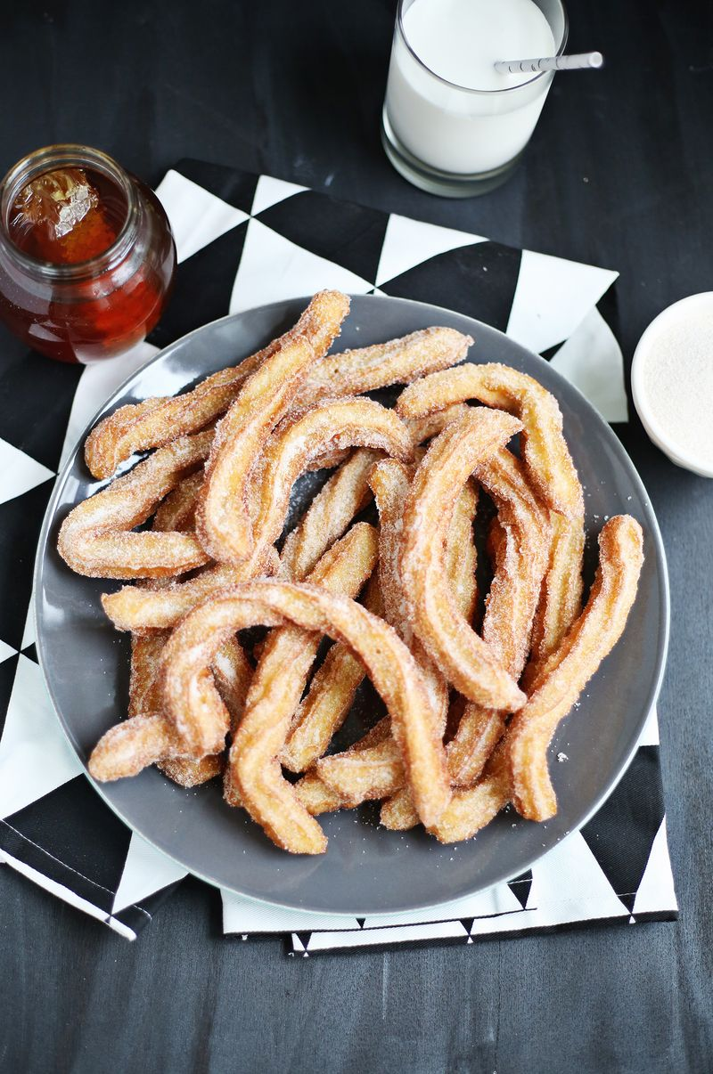 Cornmeal churros (click through for recipe)