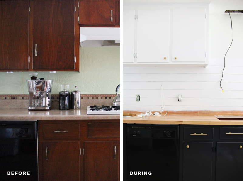 Refinishing kitchen cabinets— the right way.