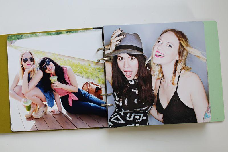 A fun gift idea! Sister photo book!