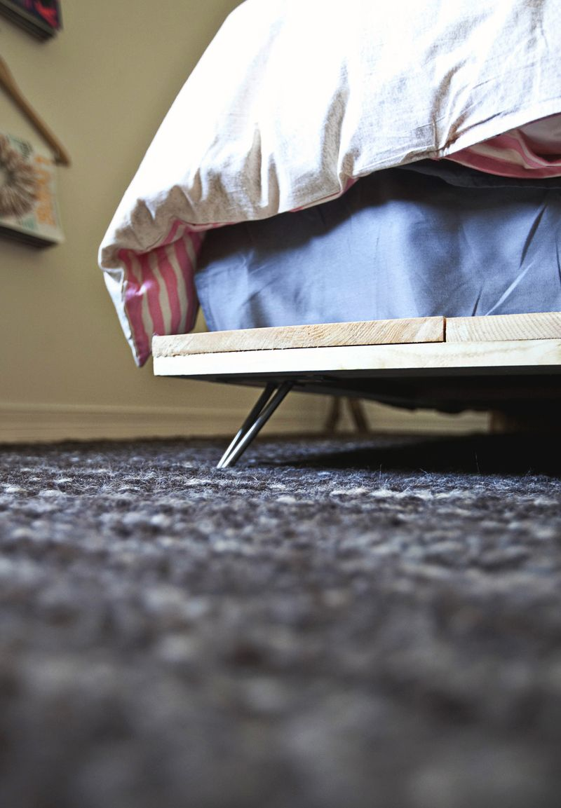 Diy Simple Bed Frame A Beautiful Mess