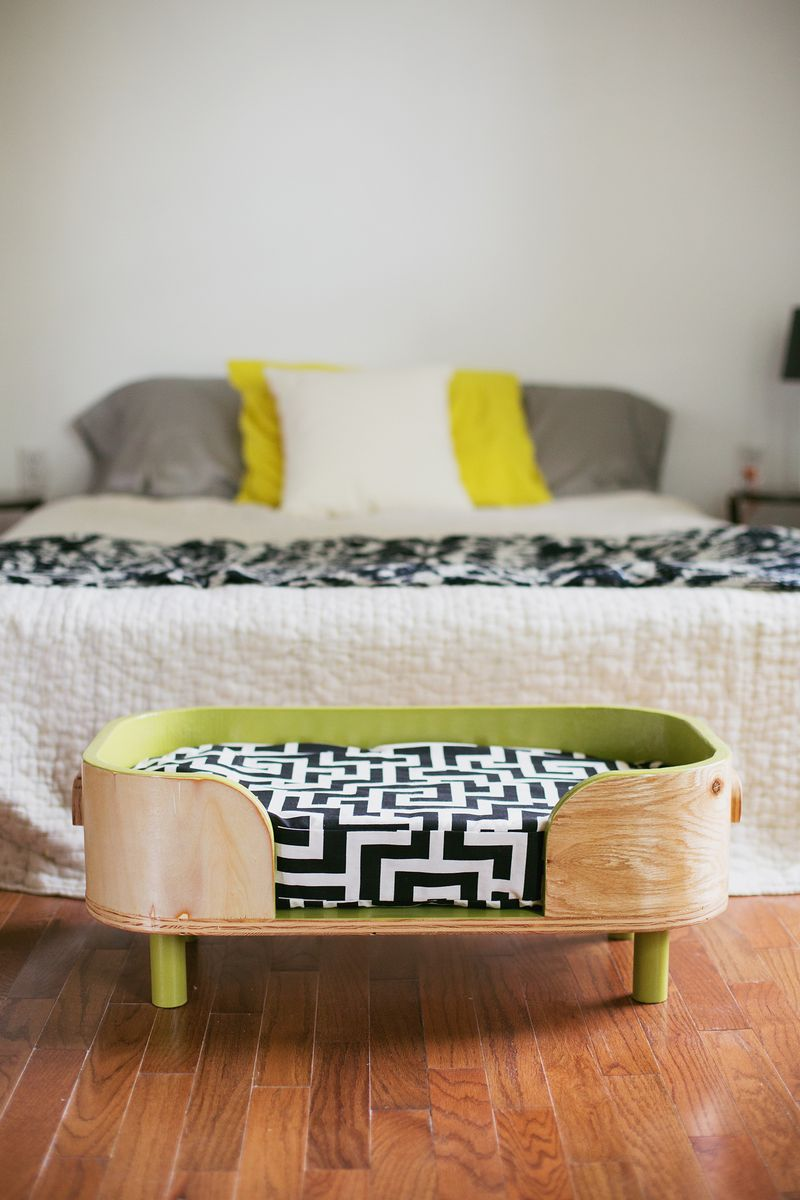 Picture of: How To Make A Modern Pet Bed A Beautiful Mess
