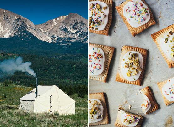 Pop tarts and beautiful views