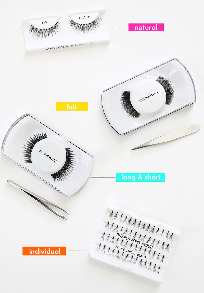 Let's Talk About False Lashes abeautifulmess.com
