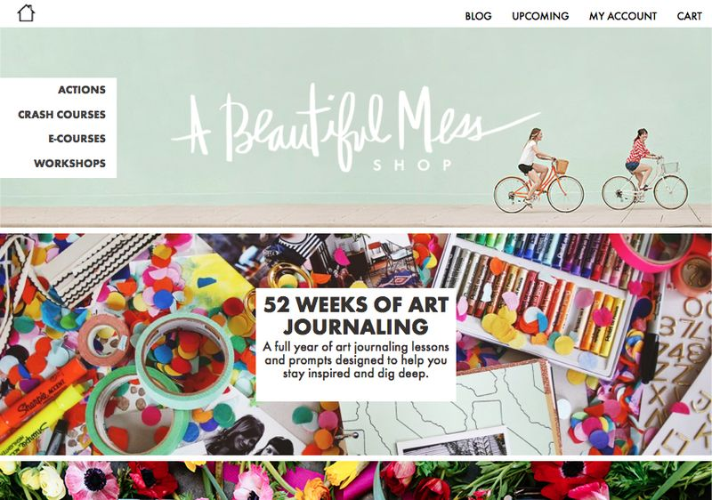 A Beautiful Mess Shop is now up!!