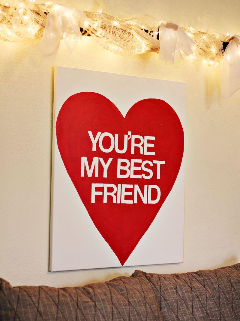 Bestfriendwallart
