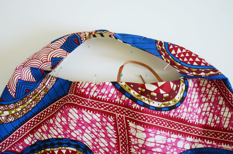 How to sew a purse step4