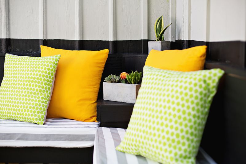 Sew your own outdoor cushions