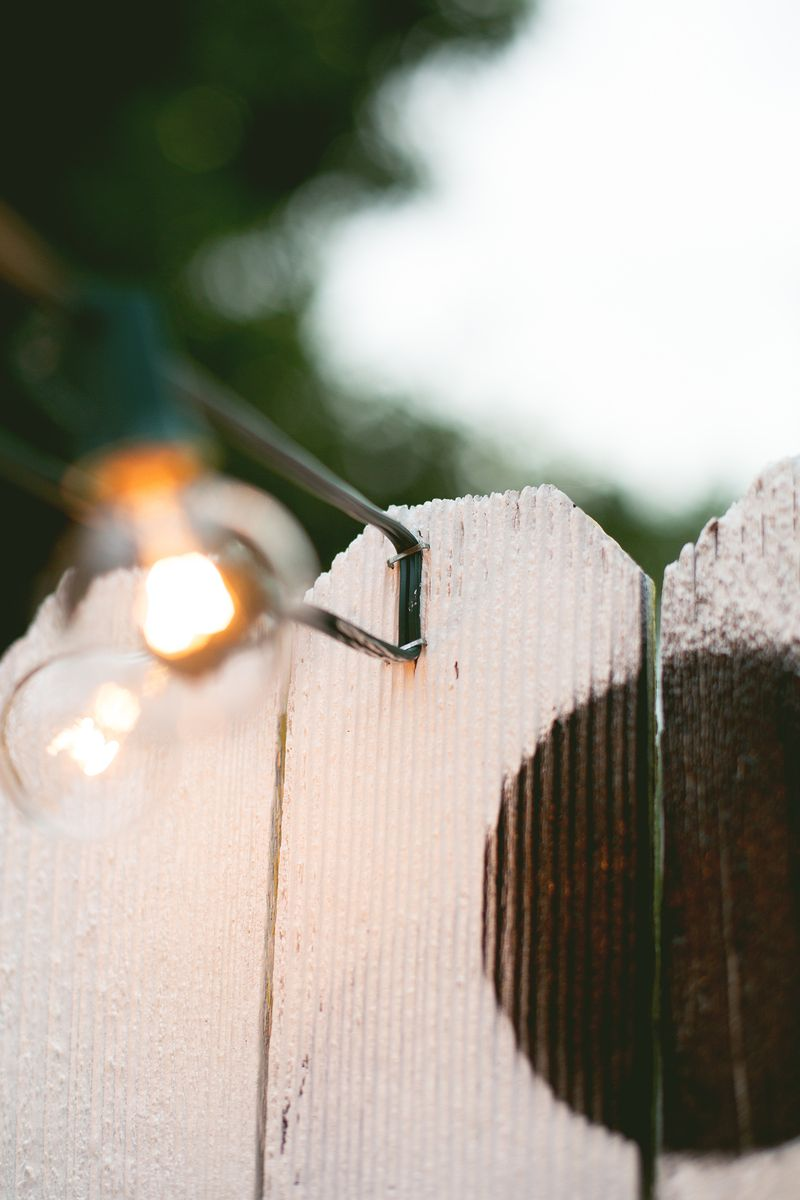 Abeautifulmess party lights stapling (click for more details)