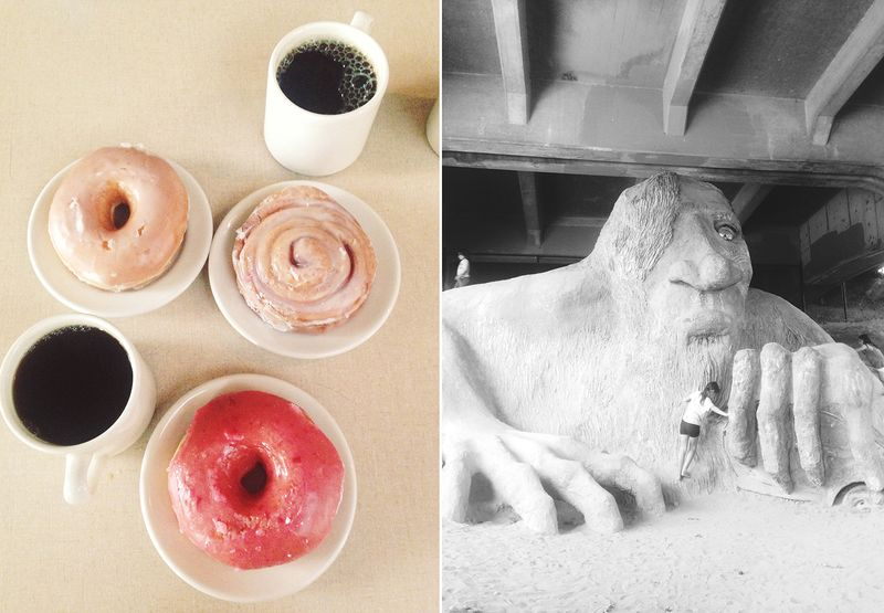 Hot pot donuts and a troll