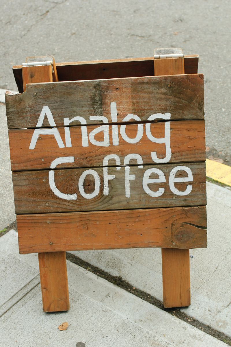 Analog coffee