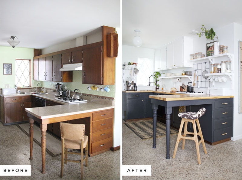 Merveilleux Eclectic Kitchen Renovation  Including Before And After Photos