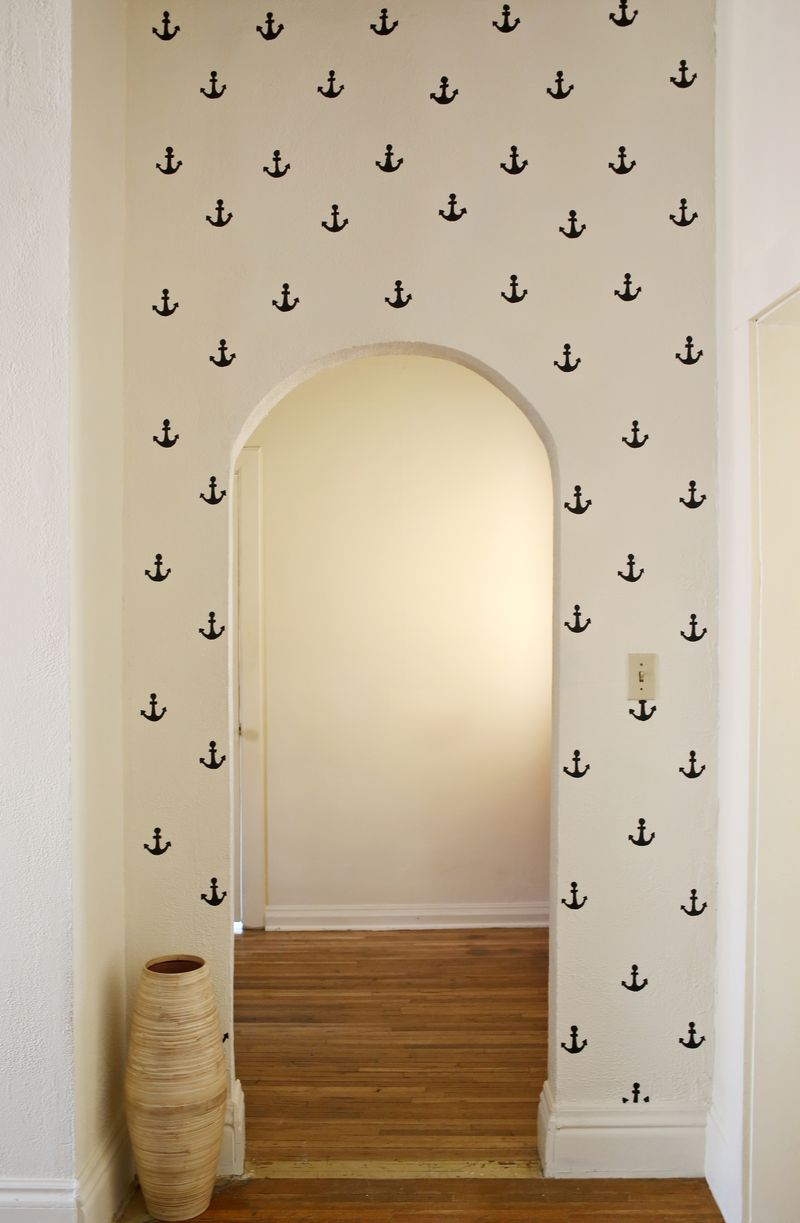 Love this anchor wall