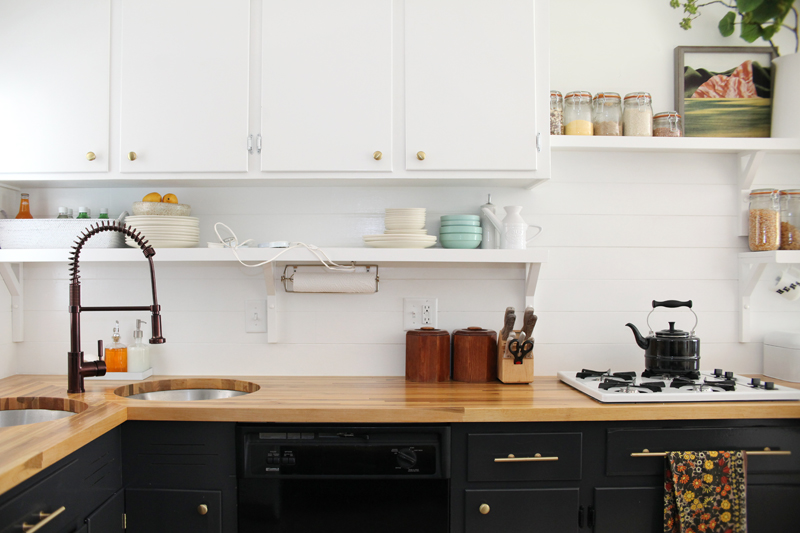 ... How To Make An Inexpensive Plank Backsplash